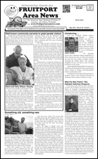 Fruitport Area News - May 2018 issue - page 1