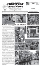 Fruitport Area News - May 2016 issue - page 1